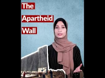 Let me tell you about the apartheid wall