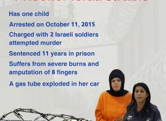 Prisoner Israa Ja'abis